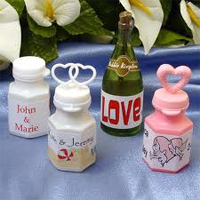 Personalised Wedding Bubbles